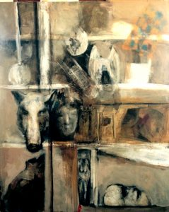 art works painting by GB Smith