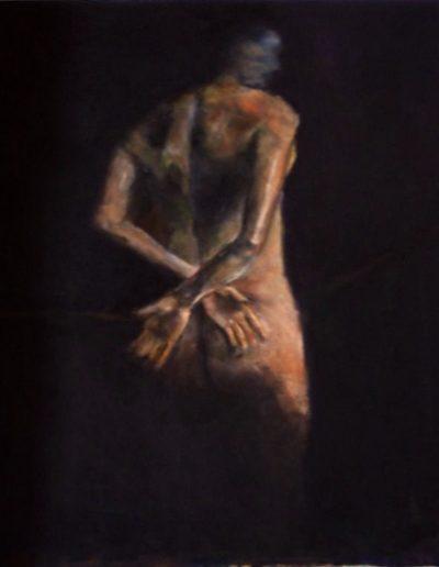 Sophia. Mixed media on canvas. SOLD